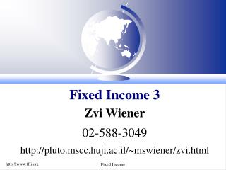 Fixed Income 3