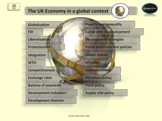 The UK Economy in a global context