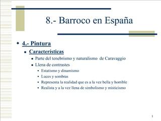 8.- Barroco en Espa a