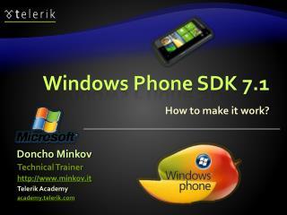 Windows Phone SDK 7.1