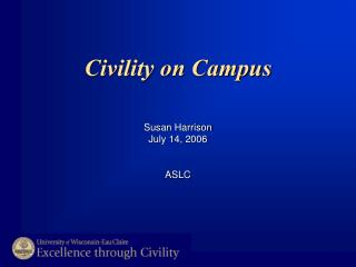Civility on Campus