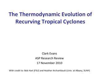 The Thermodynamic Evolution of Recurving Tropical Cyclones