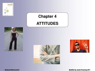 Chapter 4 ATTITUDES