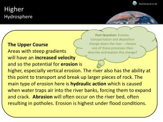 Higher Hydrosphere