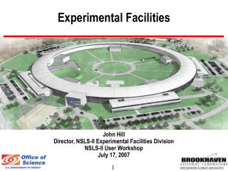 Experimental Facilities