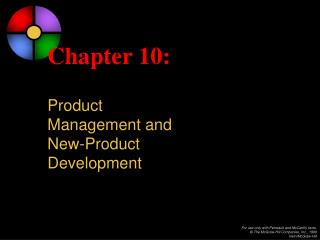 Chapter 10: Product  Management and  New-Product  Development