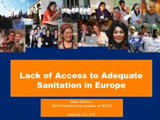 Lack of Access to Adequate Sanitation in Europe