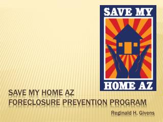 Save my home az foreclosure prevention program