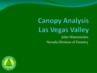 Canopy Analysis Las Vegas Valley