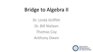 Bridge to Algebra II