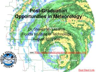 Post-Graduation Opportunities in Meteorology
