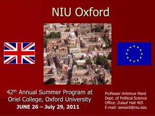 NIU Oxford