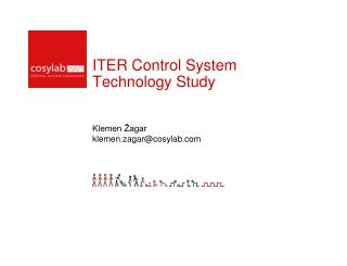 ITER Control System Technology Study