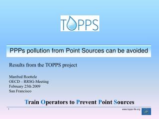 PPPs  pollution from  Point  Sources can be avoided