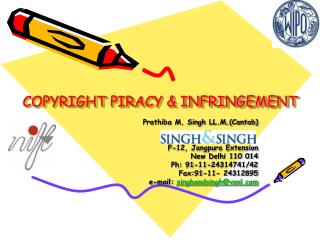 COPYRIGHT PIRACY & INFRINGEMENT