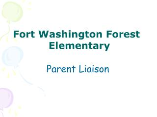 Fort Washington Forest Elementary