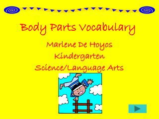 Body Parts Vocabulary