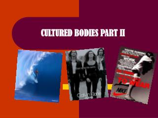 CULTURED BODIES PART II
