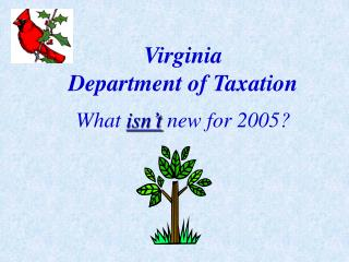 Virginia Department of Taxation