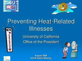 Preventing Heat-Related Illnesses