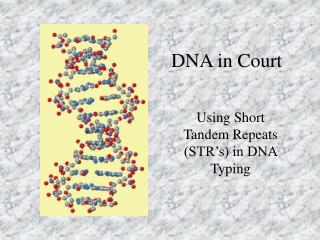 DNA in Court