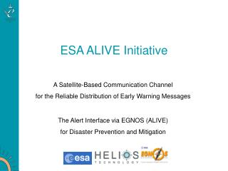 ESA ALIVE Initiative
