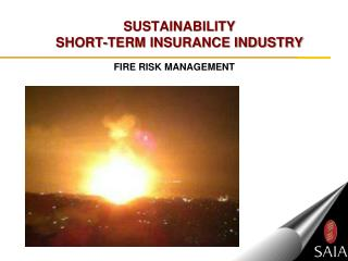SUSTAINABILITY  SHORT-TERM INSURANCE INDUSTRY