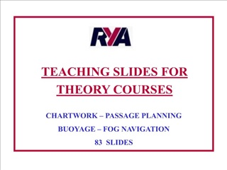 TEACHING SLIDES FOR THEORY COURSES