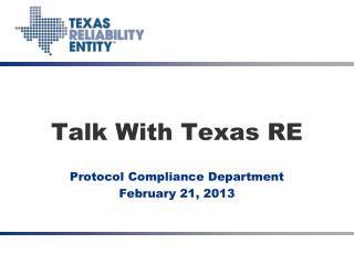 Talk With Texas RE