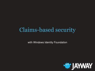 Claims-based security