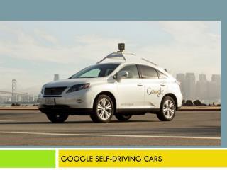 Google driver-free cars