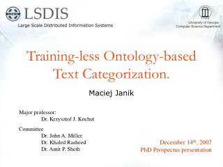Training-less Ontology-based Text Categorization.