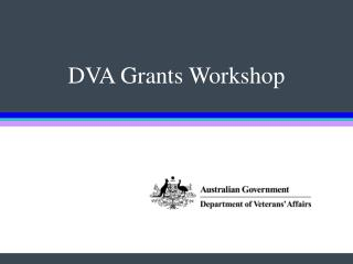 DVA Grants Workshop