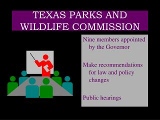 TEXAS PARKS AND WILDLIFE COMMISSION