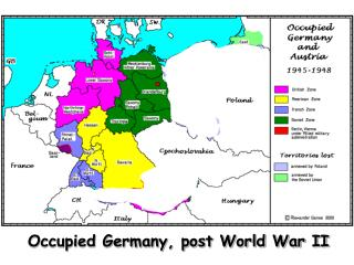 Occupied Germany, post World War II