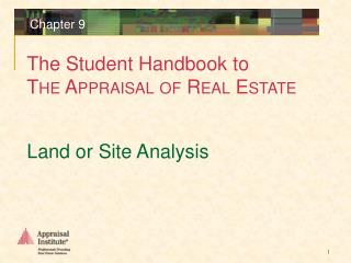 Land or Site Analysis