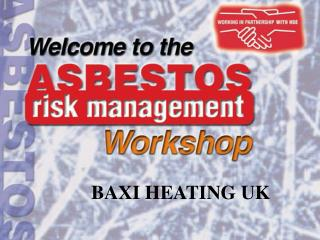 BAXI HEATING UK