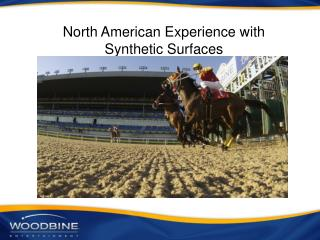 North American Experience with Synthetic Surfaces