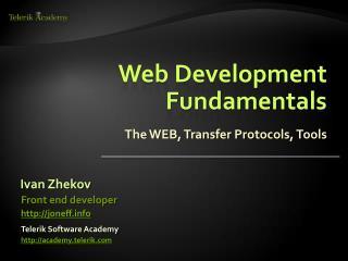 Web Development Fundamentals