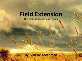 Field Extension