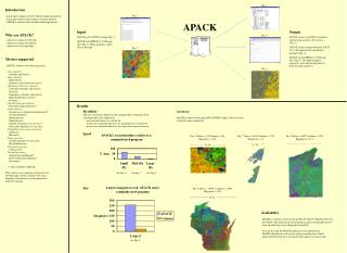 Metrics supported   APACK calculates the following metrics:     Area statistics       Absolute and relative     Edge sta