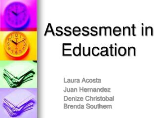 Assessment in Education