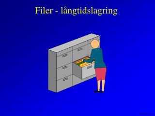 Filer - långtidslagring