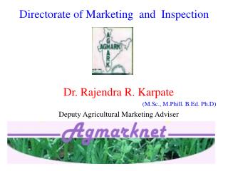 Directorate of Marketing  and  Inspection