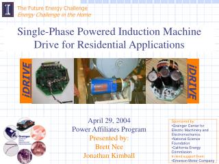 The Future Energy Challenge  Energy Challenge in the Home