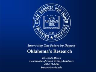Oklahoma's Research