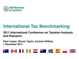 International Tax Benchmarking