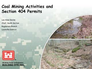 Coal Mining Activities and  Section 404 Permits