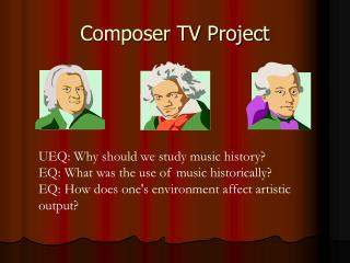 Composer TV Project