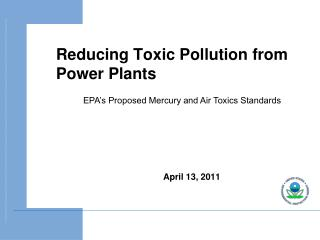 Reducing Toxic Pollution from Power Plants